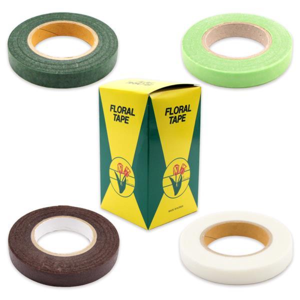 꽃테이프 박스 12개입 플라워테이프 꽃만들기 공예용