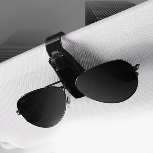 안경 거치대 선그라스 안경 클립 홀더 1P 색상랜덤