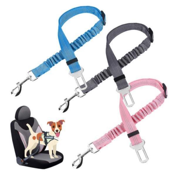 애완동물 강아지  고양이 조절가능 자동차 안전벨트