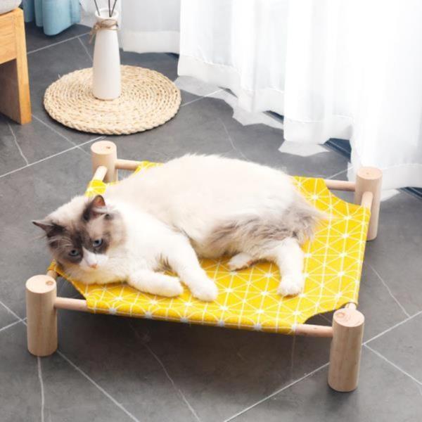 원목 고양이 강아지 해먹 침대 애견 쇼파 캠핑 쿨매트