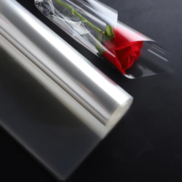 투명 opp 필름 롤 오피피 비닐 꽃 포장지 50cmX50M