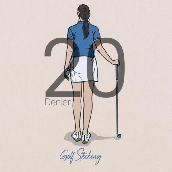UV차단 20D 골프 스타킹