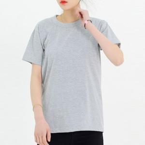 DGI1823-1 여자빅사이즈라운드반팔면티셔츠