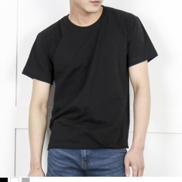 DGI1823 남자빅사이즈라운드반팔면티셔츠
