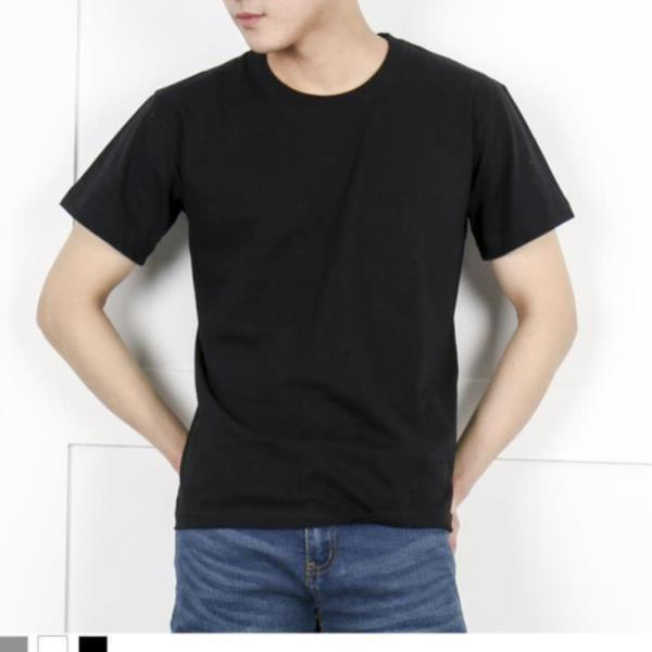 남자티 DGI1822 남자기본라운드반팔면티셔츠