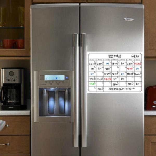 냉장고 스케줄보드 메모보드 달력보드