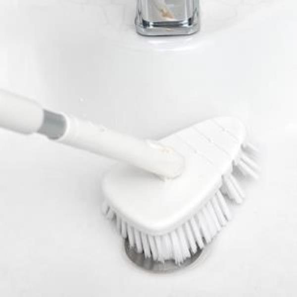길이 조절되는 화장실 바닥 청소솔 욕실청소솔