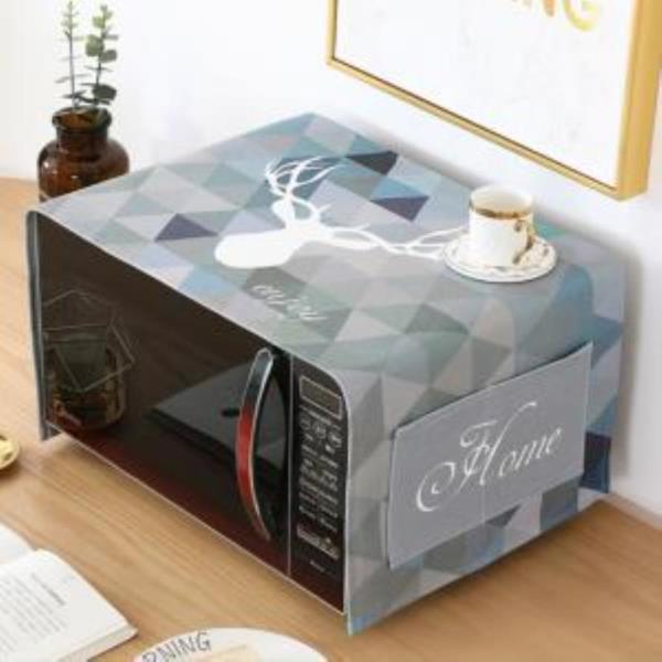북유럽풍 전자레인지 커버 냉장고커버 세탁기커버