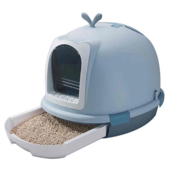고급형 평판형 오픈형 고양이배변실 고양이화장실