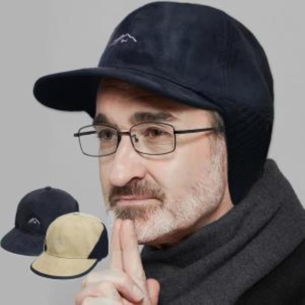 세무 니트 캡 남성 겨울 모자 귀달이 방한 기모 모자