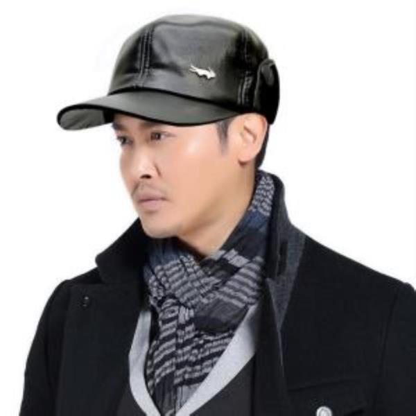 라코 레더 다일 귀달이 겨울 모자 방한 기모 모자
