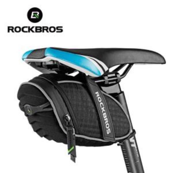 ROCKBROS 레오파드 3D쉘 방수안장가방