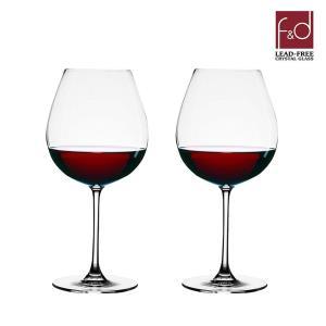 F&D 글라스 와인잔 2P세트