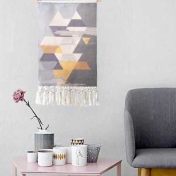 북유럽 패브릭 포스터 벽걸이 장식 태피스트리