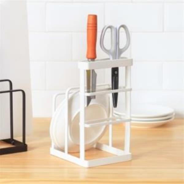 주방 도마꽂이 칼꽂이 접시수납랙 그릇정리대 스탠드