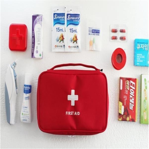 여행용 응급 비상약 파우치 소품가방