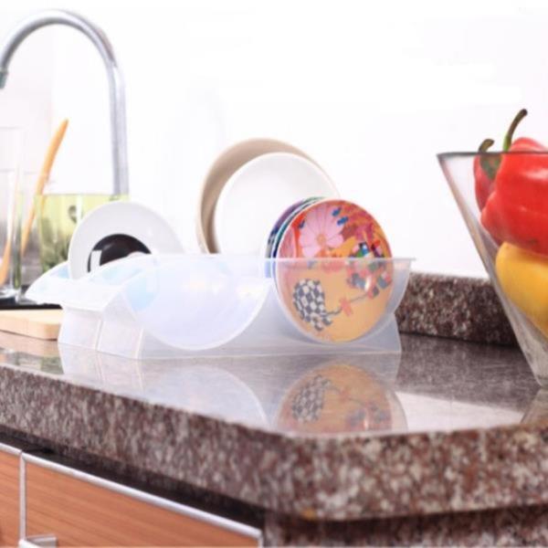 미니 접시보관함 그릇정리대 접시꽂이 그릇 소서정리