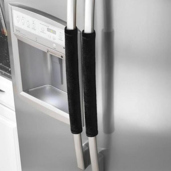 극세사 냉장고 손잡이 오염방지 커버 렌지 덮개 데코