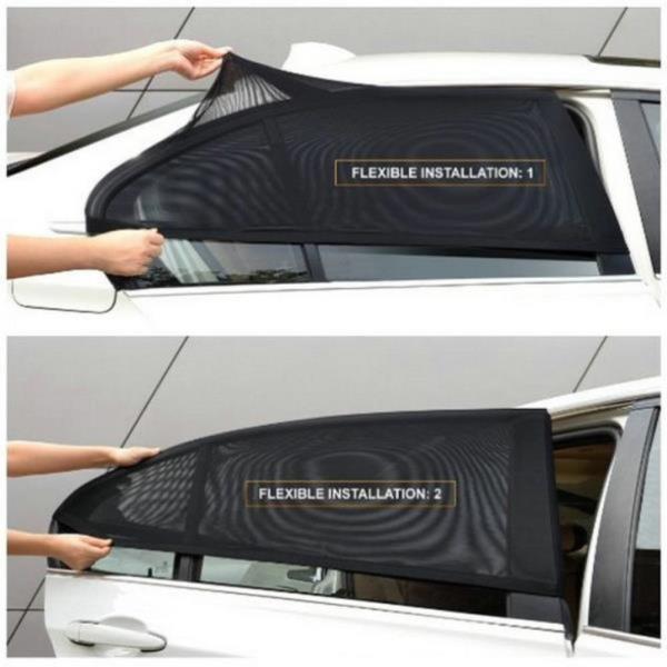차량용 햇빛가리개 방충망 모기장 차양막