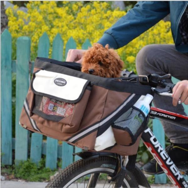 반려동물 자전거용 카시트 외출가방 바구니 캐리어 이동가방  펫가방