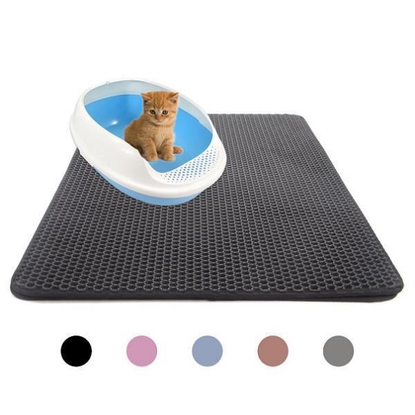 고양이 사막화방지매트 스크래쳐매트 모래매트 카페트 30X30사이즈 소형