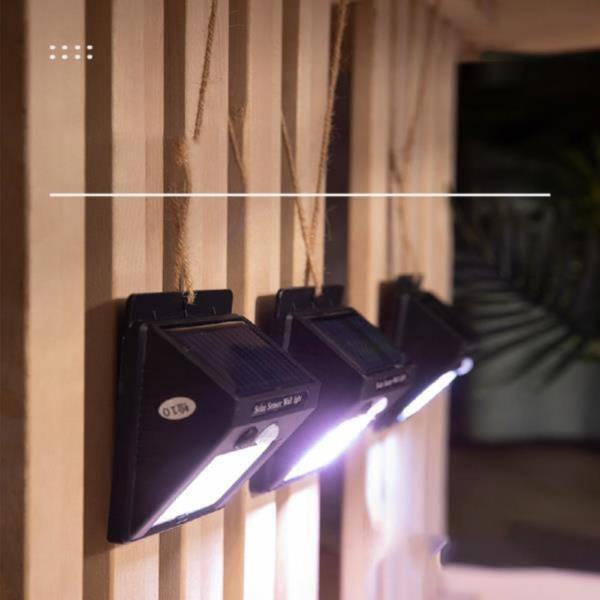 솔라 눈뽕급 태양광 센서등 LED 벽등
