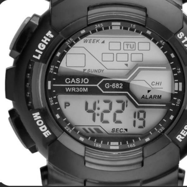 하나 더 82-S612 디지털 HONHX 스포츠 손목시계 와치