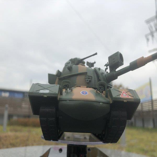 태양광회전판 육군 M48 전차 탱크 무선조종