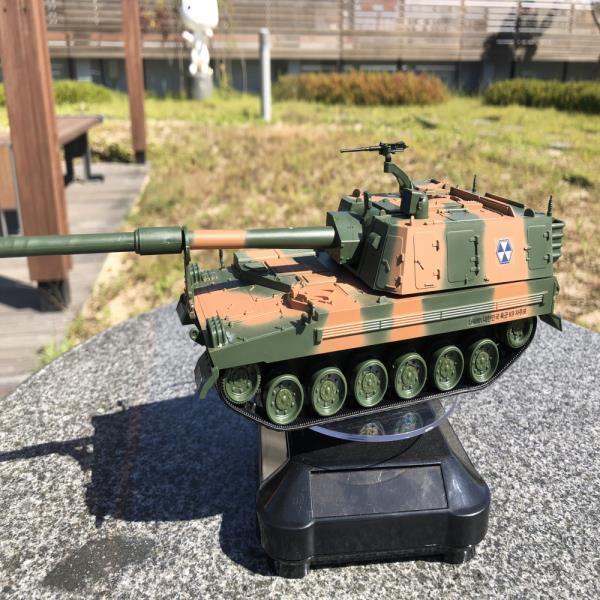 태양광회전판 육군 K9 자주포 전차 무선조종