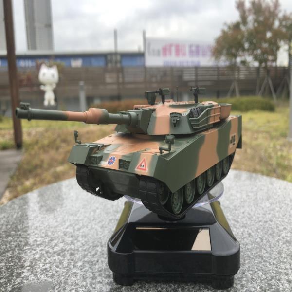 태양광회전판 육군 K1A1 전차 탱크 무선조종