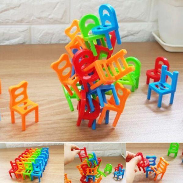 24개 의자쌓기 복불복 보드게임