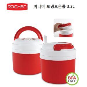 대용량 로이첸 보냉병 3.3L - 보냉병 보온병 보냉병 아이스물통 보냉보온통
