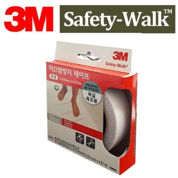 3M 맨발 물기 미끄럼방지테이프 욕실욕조용 투명