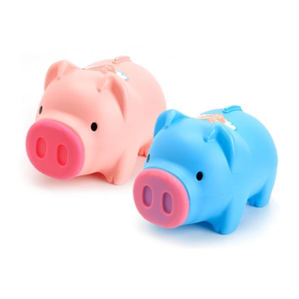 돼지코 분리 동전 지폐 돼지 저금통 대2호 1개