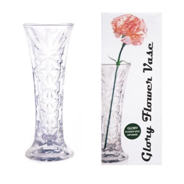 위플 플라워 소 유리 화병 꽃병 꽃꽃이 오브제