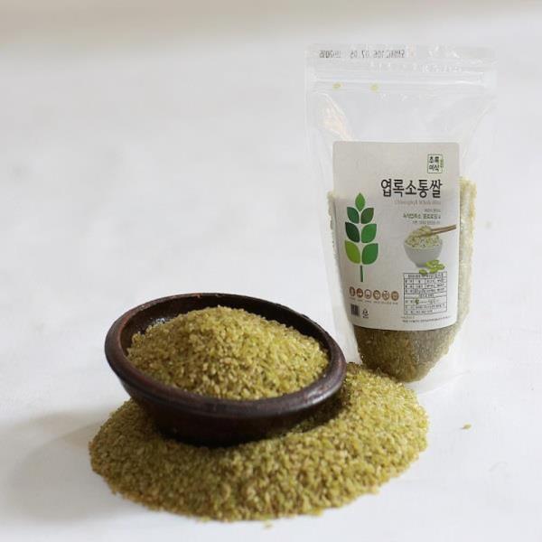 엽록소통쌀(청현미)