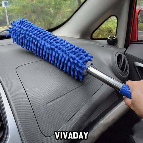 MY 차량용 극세사 먼지떨이 색상랜덤발송