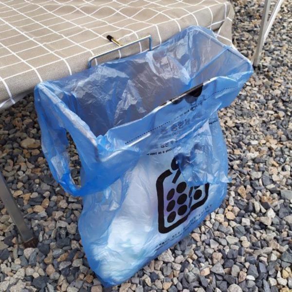 내담쇼핑몰 캠핑용품 캠핑 테이블 쓰레기봉투 홀더
