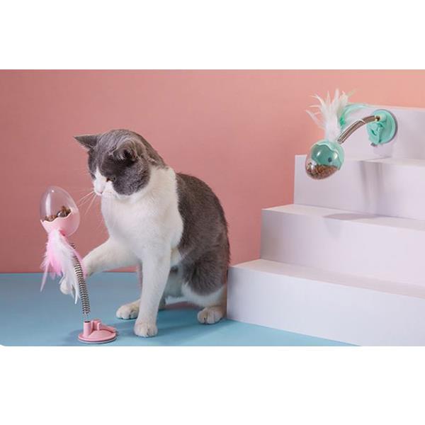 OH 탁펫 고양이 강아지 탄성 간식볼 장난감