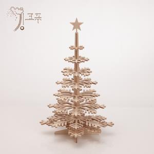 킹코푸 크리스마스 디자인 자작나무 미니 트리 48cm