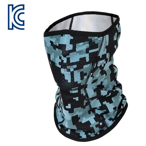 따뜻하고 숨쉬기 편한 기모+매쉬 마스크, 디지털카모