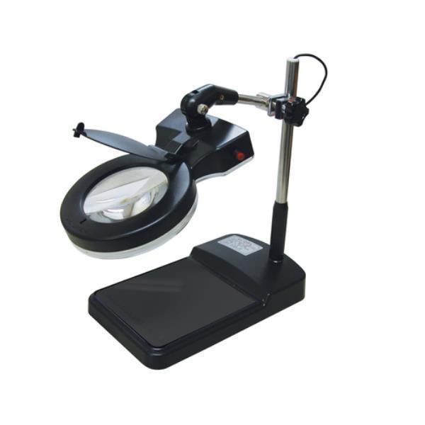 블루텍 조명확대경 BD102L-8X LED 400-5702