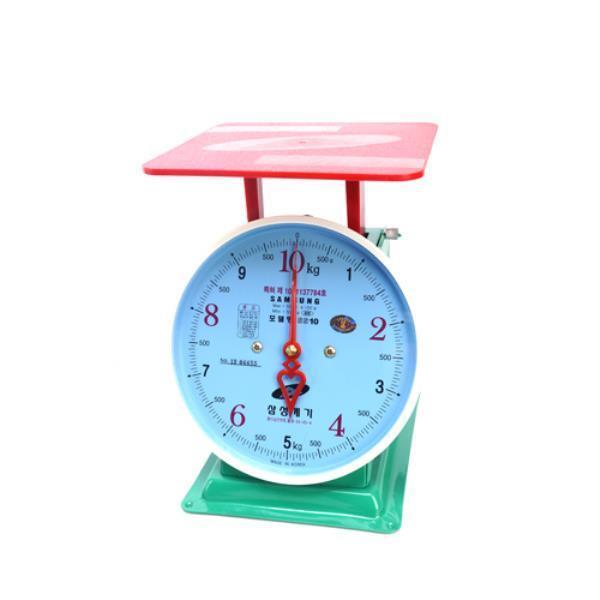 삼성계기 지시저울 5kg 438-0029