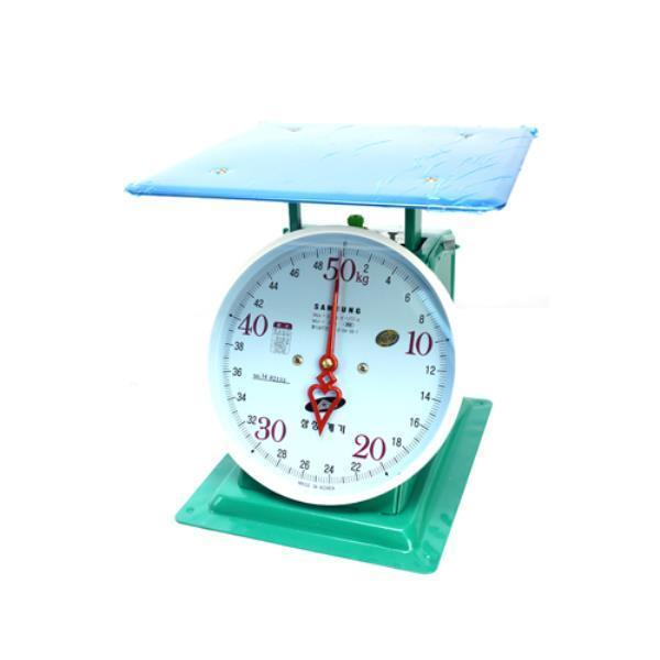 삼성계기 지시저울 50kg 438-0065