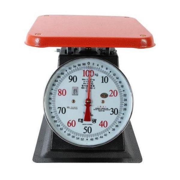 삼성계기 지시저울 100kg 438-0074