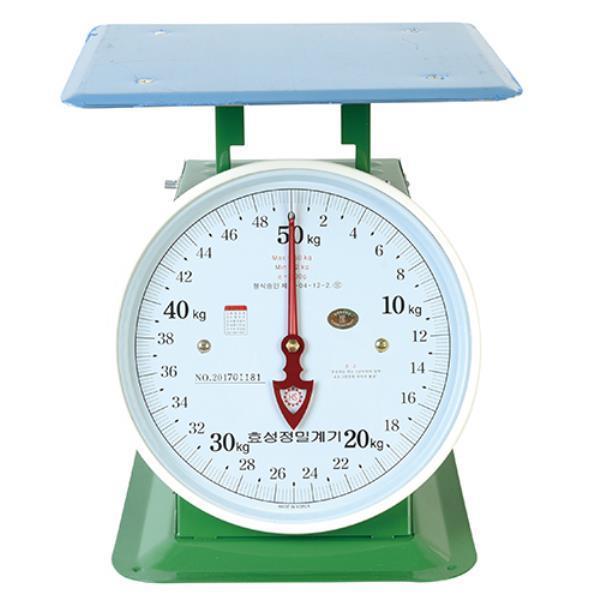 효성정밀계기 지시저울 30kg 438-0278