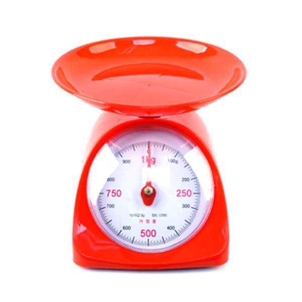 삼성계기 주부저울 2kg 438-0199