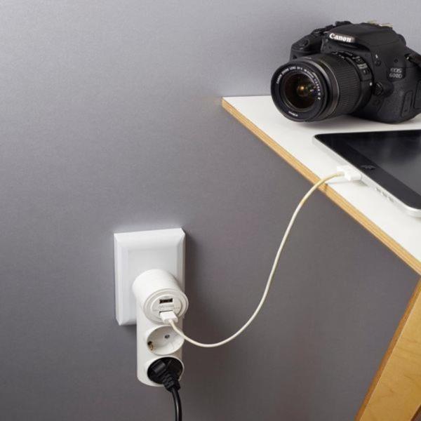 USB충전콘센트2구1포트/USB충전탭/USB멀티탭/고속충전