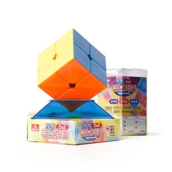 코코 큐브 퍼즐 2x2 (고급형)