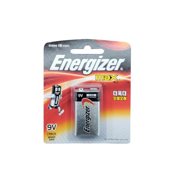 에너자이저 맥스9V 6LF22 알카라인건전지